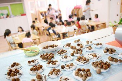 広い園庭ではだしでのびのびと自由に遊ぶこと・たくさんの読み聞かせを大切にしている幼稚園