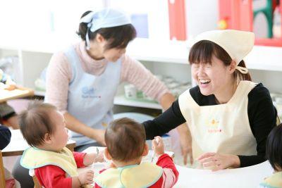 基本的な生活習慣を大切にしているので子ども達とゆっくりと関わることができる認可保育園