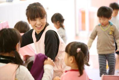 子ども達も先生たちも活動的で元気な環境の幼稚園