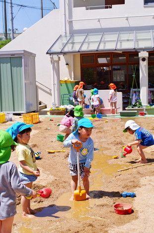 おともだち同士との関わり合いなどたくさんのことを経験できる「遊び」を大切にしている幼稚園