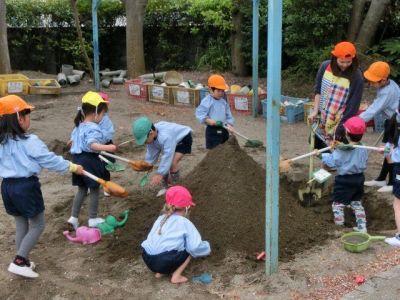 こども達ひとり一人を見れる小規模でこじんまりとした幼稚園