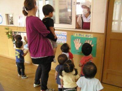 川崎市共通のメニューに基づいて献立作成しているのでブランクがある方も歓迎の認可保育園