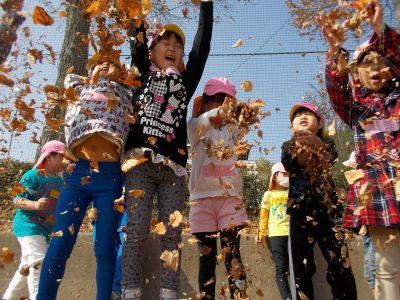 園庭での外遊びなど思い切り体を動かすことも大切にした社会福祉法人の認可保育園