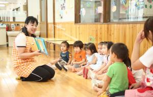 お子さんの園・学校行事や熱なども協力し合いながら勤務している働きやすい環境の認可保育園