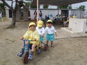 子ども達みんなの顔とお名前が分かるくらいアットホームな環境の幼稚園