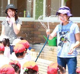 まずは集団生活に慣れることや遊びを通してお友達と関わることなど日々の保育を大切にしている幼稚園