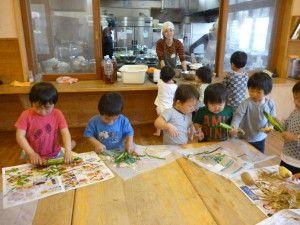 子ども達の「おいしかった!」という嬉しい声が直接聞ける認可保育園