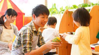 日々の保育や広い園庭でのお外遊びも大切にしている小規模でアットホームな幼稚園