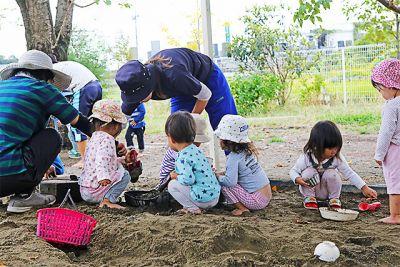 穏やかな園長先生をはじめ、子ども達ひとり一人に寄り添った保育を大切にしている認可保育園