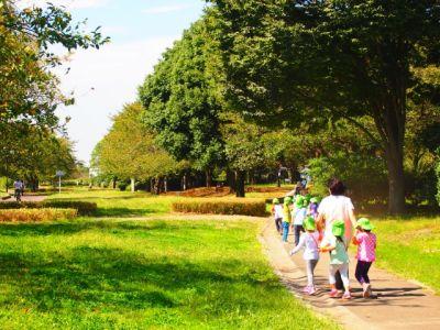 自然に囲まれた環境の中で遊びを通した健康的な身体作りや、基本的な生活習慣を大切にした認可保育園
